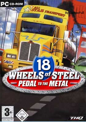 18 Wheels of Steel Pedal to the Metal PC [Full] [MEGA]
