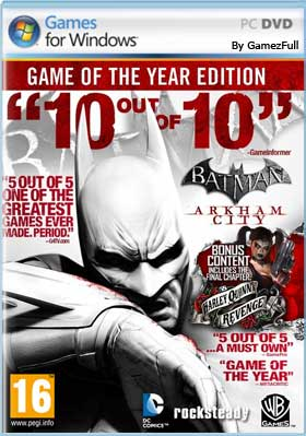 Descargar Batman Arkham City pc full español mega y google drive /