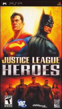 Justice League Heroes [PSP] (Español - ISO) [MEGA]
