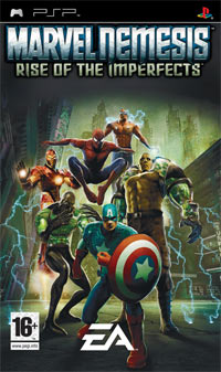 Descargar Marvel Nemesis Rise of the Imperfects psp español 1 link mega y google drive /