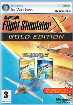 Microsoft Flight Simulator X Steam Edition PC Full Español