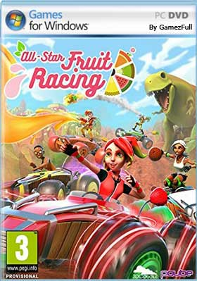 Descargar All-Star Fruit Racing pc full español mega y google drive /
