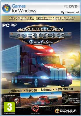 Descargar American Truck Simulator pc español mega y google drive /